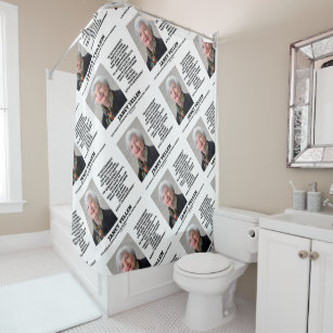 Janet Yellen Govt Institutions Teaching Inspire Shower Curtain