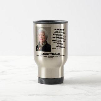 Janet Yellen Govt Institutions Teaching Inspire Travel Mug