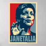 Janetalia Poster