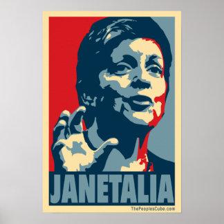 Janetalia Print