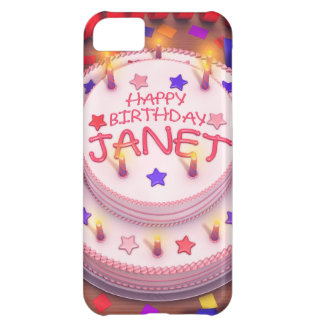 Janet's Birthday Cake Cover For iPhone 5C