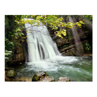 Janet's Foss, The Yorkshire Dales - Postcard