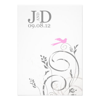 Janet's Front Personalized Invite