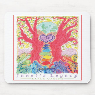 janets legacy poster mouse pad