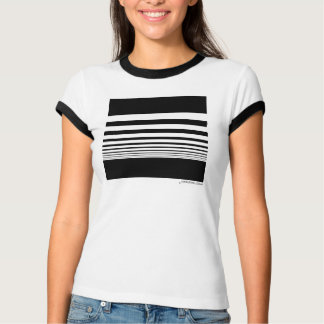 JaneZoe Square Perspective Icon Fashion GraphicTee T-Shirt
