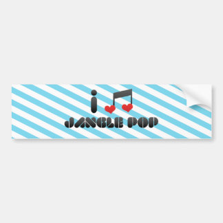 Jangle Pop Car Bumper Sticker