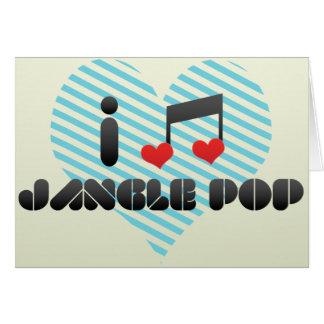Jangle Pop Greeting Card