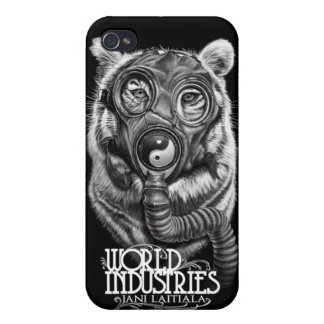 Jani Apocalyptic Tiger iPhone 4/4S Cases