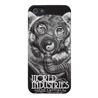 Jani Apocalyptic Tiger iPhone 5 Cases