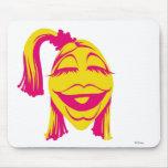 Janice Disney sonriente del Muppet Alfombrillas De Ratones