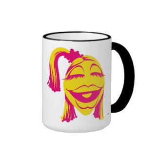 Janice Disney sonriente del Muppet Taza De Dos Colores