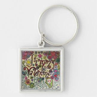 Janie Bla Bla design Key Chains