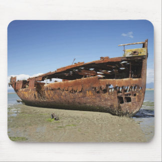 Janie Seddon Shipwreck, Motueka, Nelson Mouse Pad