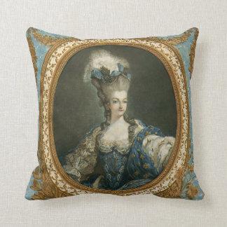 Janinet Portrait of Marie-Antoinette Fine Art Pillow