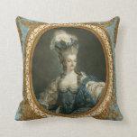 Janinet Portrait of Marie-Antoinette Fine Art Throw Pillows