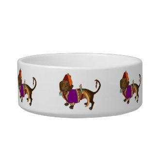 Janiserry Dachshund Pet Bowl Cat Water Bowl