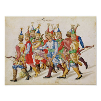 Janissaries, 1583 poster