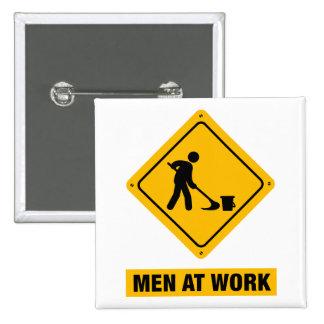 Janitor 2 Inch Square Button
