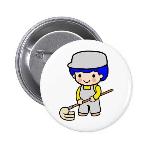 Janitor 2 pinback button