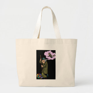 JANITOR WITCH DREAMS CANVAS BAGS