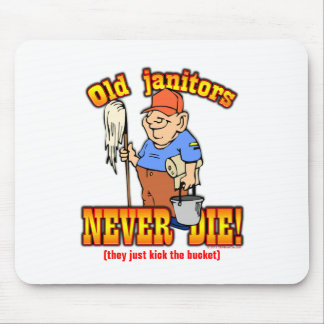 Janitors Mouse Pad