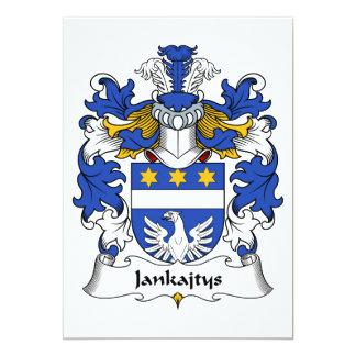 Jankajtys Family Crest Card