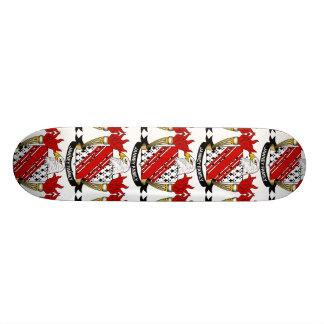 Janney Family Crest Custom Skate Board