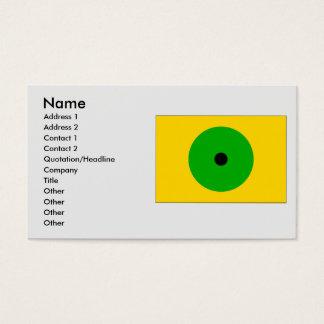 Janov RA, Czech Business Card