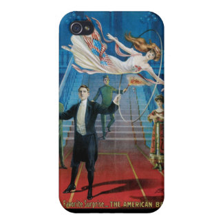 Jansen ~ The Great Vintage Magic Act iPhone 4/4S Case
