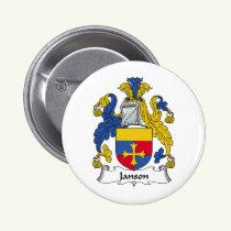 Janson Family Crest Button
