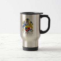 Janson Family Crest Mug