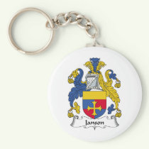 Janson Family Crest Keychain