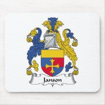 Janson Family Crest Mousepad