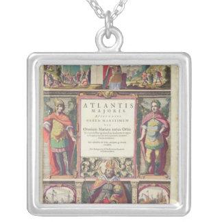 Jansson,the Fifth Volume Jansson's Square Pendant Necklace