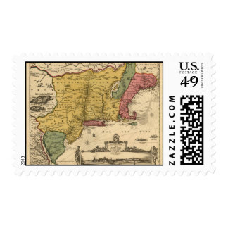 Jansson Visscher Map Postage