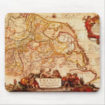 Jansz Old World Map design Mouse Pad