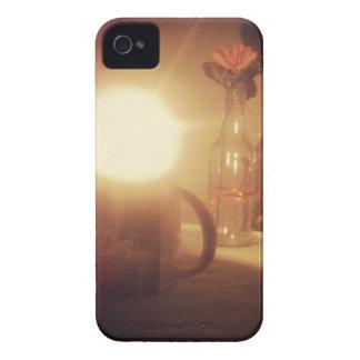 jantar a Luz de vela iPhone 4 Capas