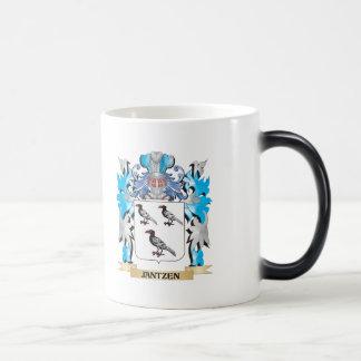 Jantzen Coat of Arms - Family Crest 11 Oz Magic Heat Color-Changing Coffee Mug