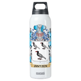 Jantzen Coat of Arms - Family Crest 16 Oz Insulated SIGG Thermos Water Bottle
