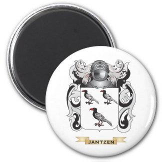 Jantzen Coat of Arms (Family Crest) 2 Inch Round Magnet