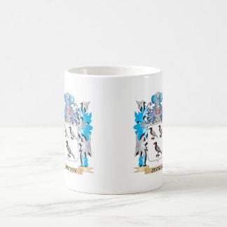 Jantzen Coat of Arms - Family Crest Classic White Coffee Mug