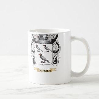 Jantzen Coat of Arms (Family Crest) Classic White Coffee Mug