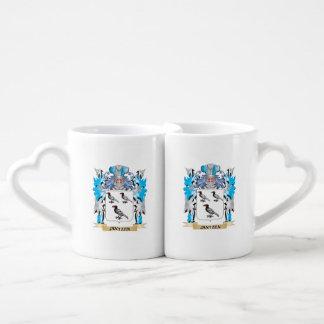 Jantzen Coat of Arms - Family Crest Couples' Coffee Mug Set