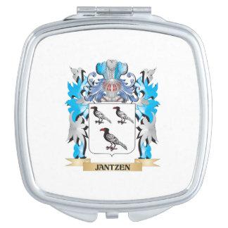 Jantzen Coat of Arms - Family Crest Mirrors For Makeup