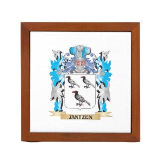 Jantzen Coat of Arms - Family Crest Pencil Holder