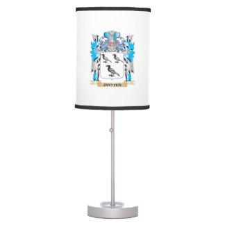 Jantzen Coat of Arms - Family Crest Table Lamps