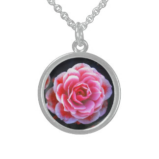 Januar Rosen Round Pendant Necklace