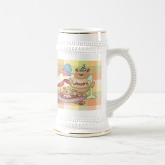 January 1 beer stein