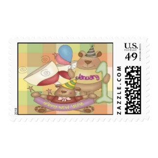 January 1 stamp