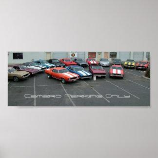 January 2005 Bakersfield Camaro Club Meeting Poster